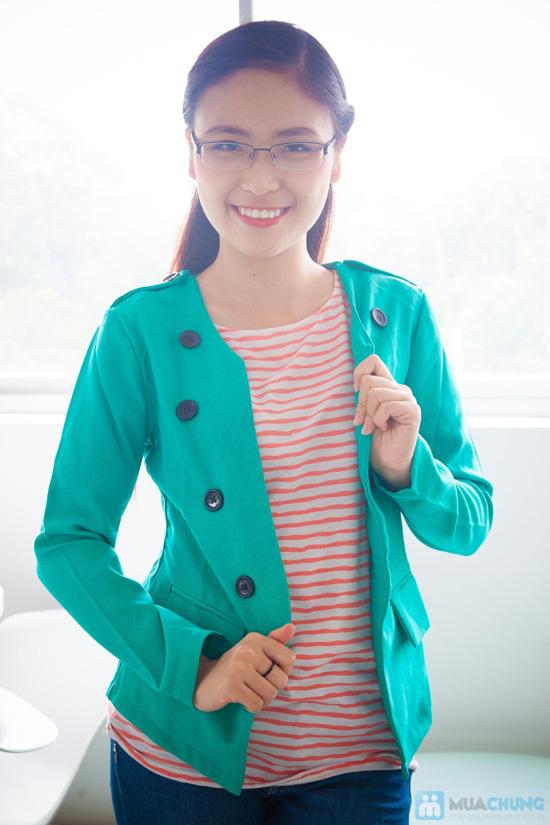 Chưa chụp sản phẩm thật - Áo khoác vest phong cách Hàn Quốc - Chỉ 130.000đ - 4
