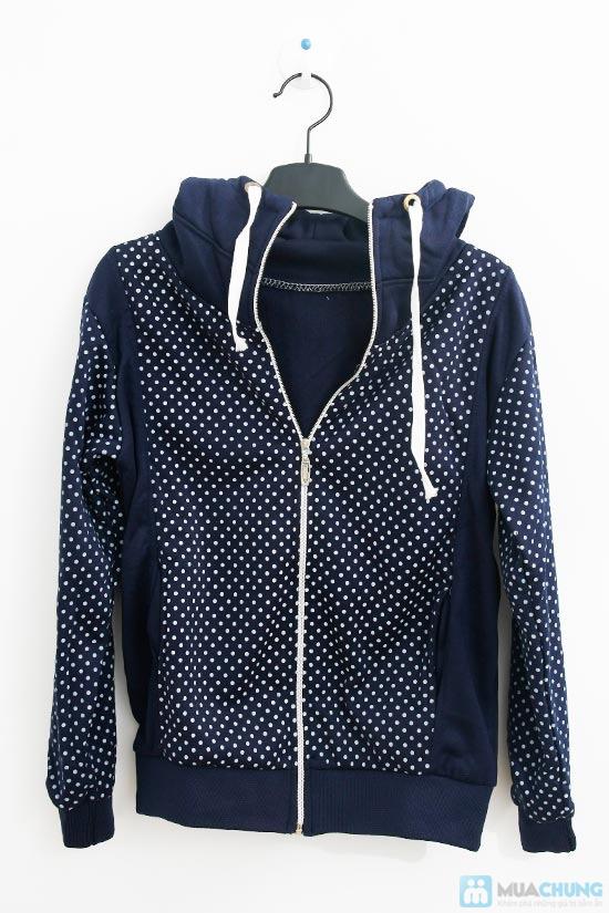 Nữ tính và sành điệu với áo khoác chấm bi xinh xắn dành cho bạn gái - Chỉ 140.000đ/01 chiếc - 1
