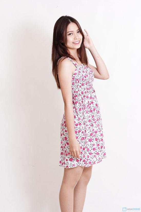 Combo 2 váy 2 dây hoa cho bạn gái - 10