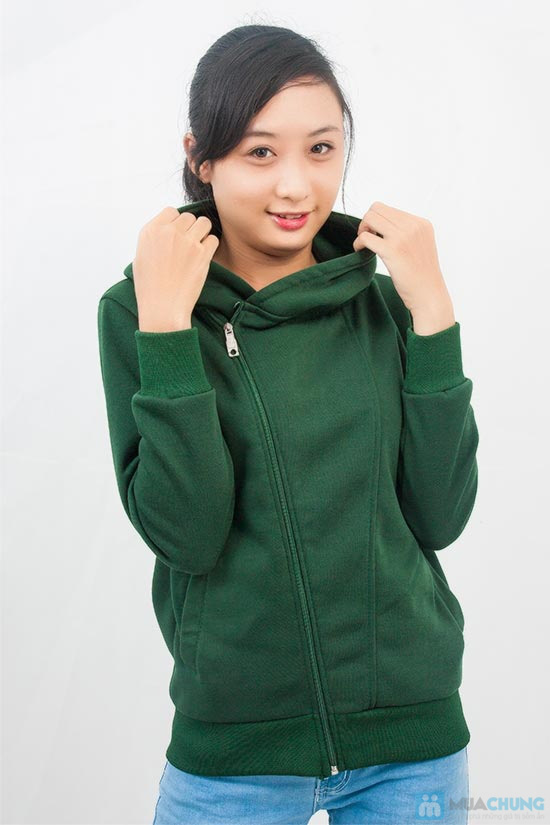 Áo khoác nữ dây kéo xéo dành cho bạn gái - Chỉ 109.000đ/ 01 chiếc. - 6