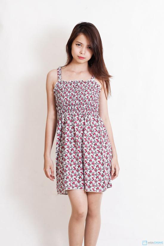 Combo 2 váy 2 dây hoa cho bạn gái - 1