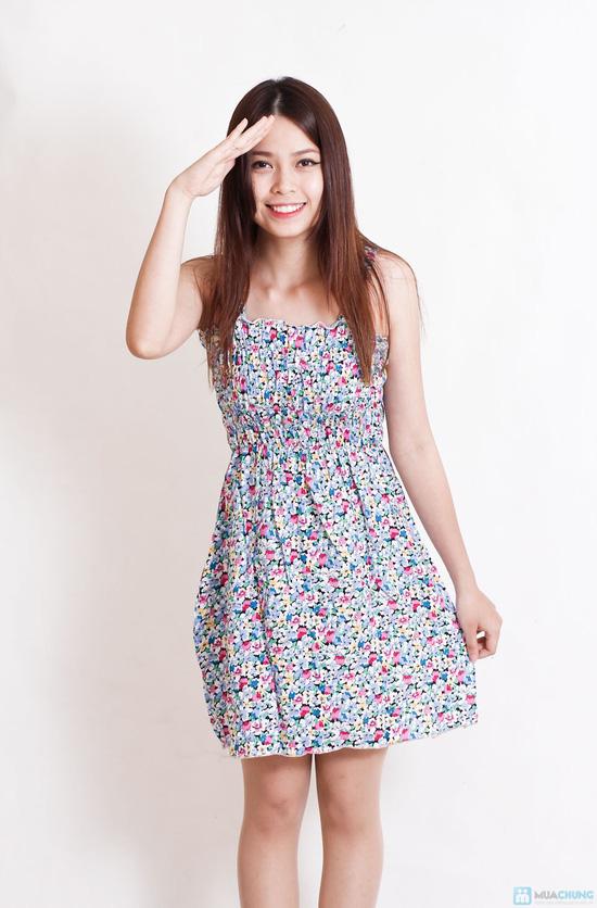 Combo 2 váy 2 dây hoa cho bạn gái - 5