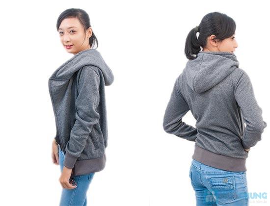 Áo khoác nữ dây kéo xéo dành cho bạn gái - Chỉ 109.000đ/ 01 chiếc. - 5