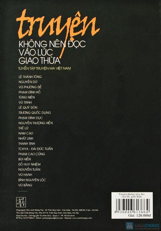 Truyện không nên đọc vào lúc giao thừa (tuyển tập truyện ma Việt Nam). Chỉ với 72.000đ - 2