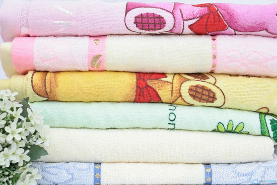 Khăn tắm cao cấp tiện dụng,100% cotton - Chỉ 90.000đ/chiếc - 2