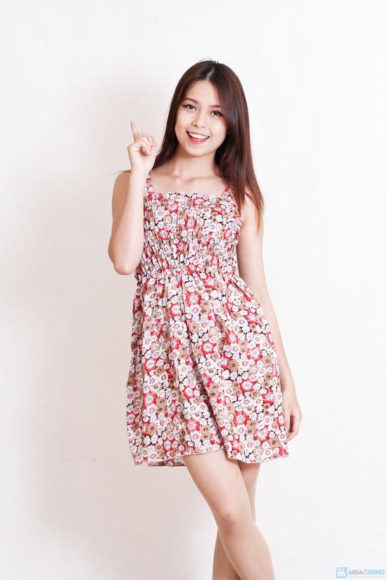 Combo 2 váy 2 dây hoa cho bạn gái - 8