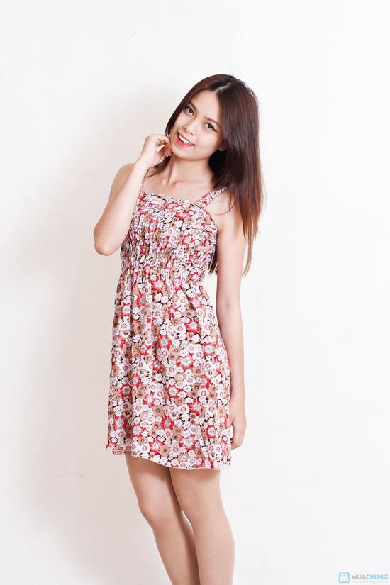 Combo 2 váy 2 dây hoa cho bạn gái - 7