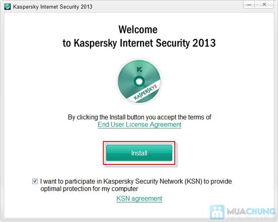 Dịch vụ cài đặt Kaspersky Internet Security 2013 - 2