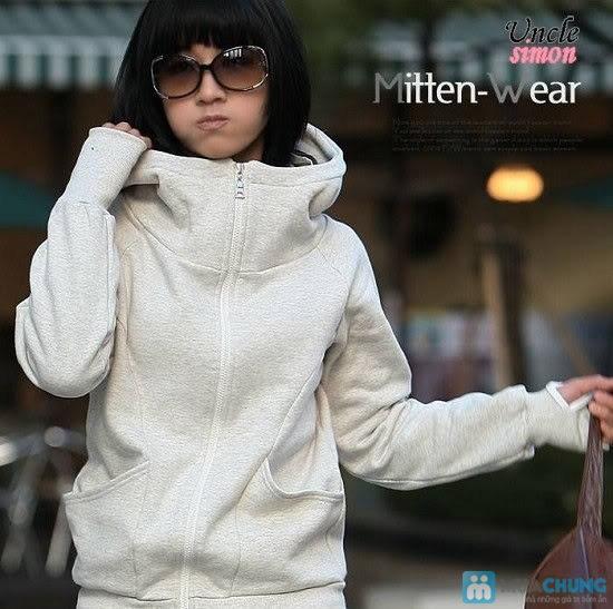 Áo khoác xỏ ngón cho bạn gái thêm ấm áp - Chỉ 105.000đ/01 chiếc - 1
