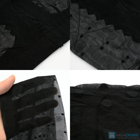 Combo 2 quần tất siêu mỏng chấm bi - 5