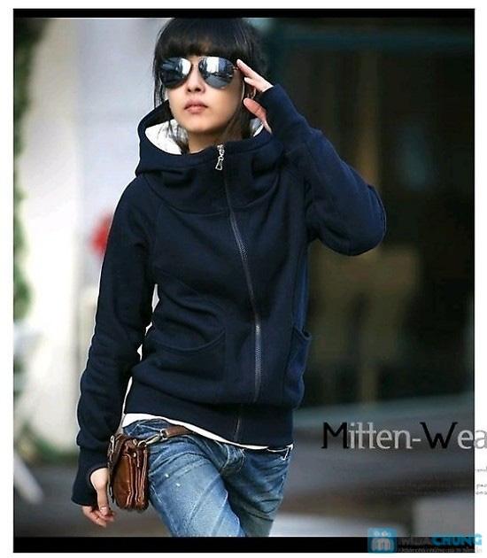 Áo khoác xỏ ngón cho bạn gái thêm ấm áp - Chỉ 105.000đ/01 chiếc - 2