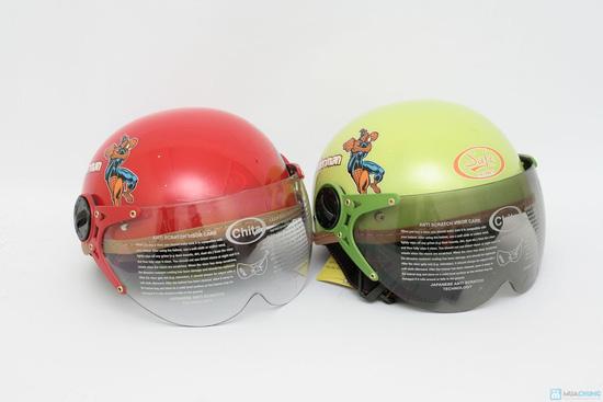 Mũ bảo hiểm trẻ em có kính chính hãng CHITA - CT27 - 1