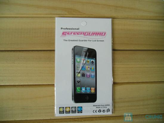 Bao da + Miếng dán màn hình cho iPhone 5 - 8