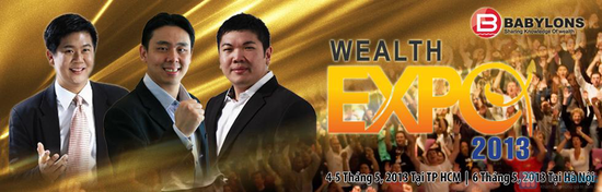Hội thảo làm giàu Wealth Expo 2013 - 1