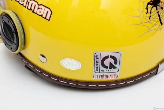 Mũ bảo hiểm trẻ em có kính chính hãng CHITA - CT27 - 7