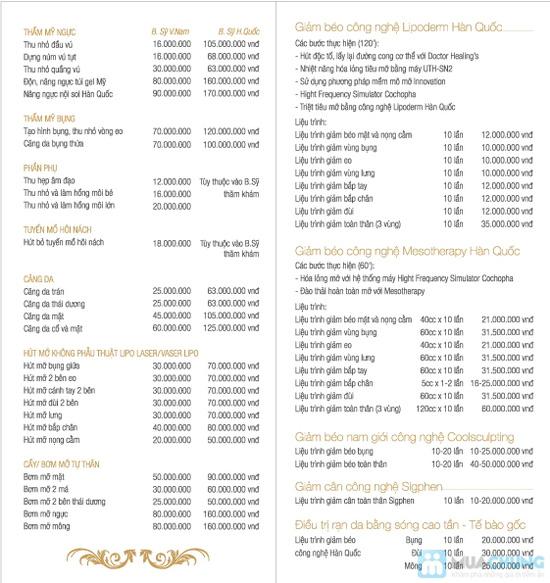 Giảm béo bằng công nghệ triệt tiêu mỡ Lipoderm của Hàn Quốc tại Korean Beauty Center - Chỉ với 289.000đ/01 buổi - 2