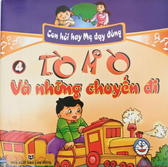 Túi sách Con hỏi hay mẹ dạy đúng (tập 1 - 4). Chỉ với 55.000đ - 8
