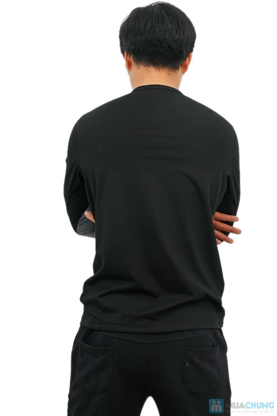 Áo thun nam dài tay Mixcolor - 4