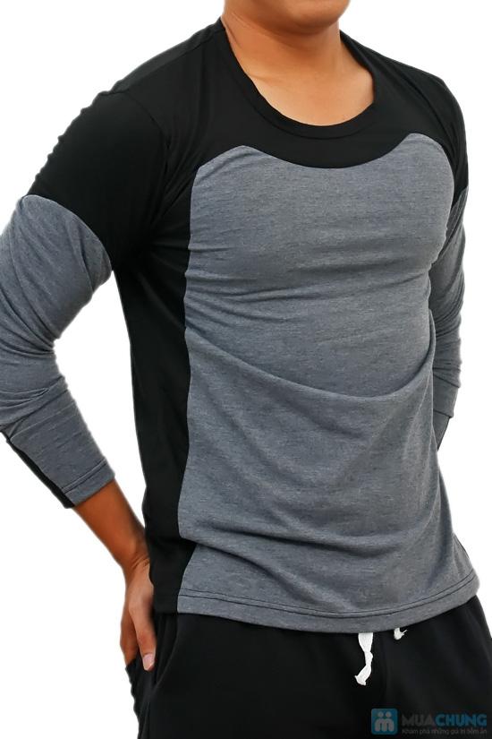 Áo thun nam dài tay Mixcolor - 3