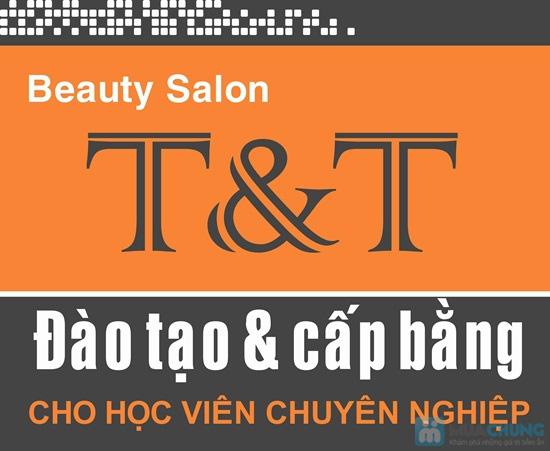 Dịch vụ uốn/duỗi/nhuộm + hấp dầu tóc tại Beauty Salon T&T - Chỉ 270.000đ - 7