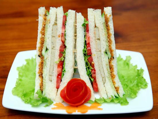 Sandwich sushi chay cho 2 người - 2