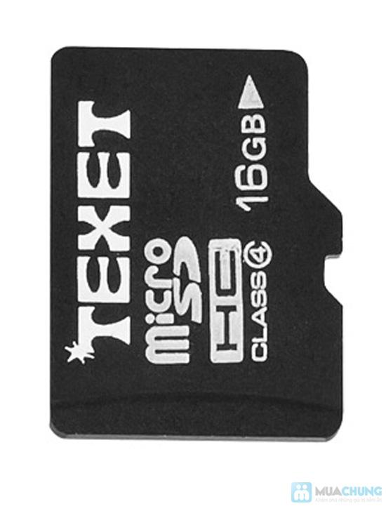 Thẻ nhớ 16GB Texet và Adapter đọc thẻ - 7