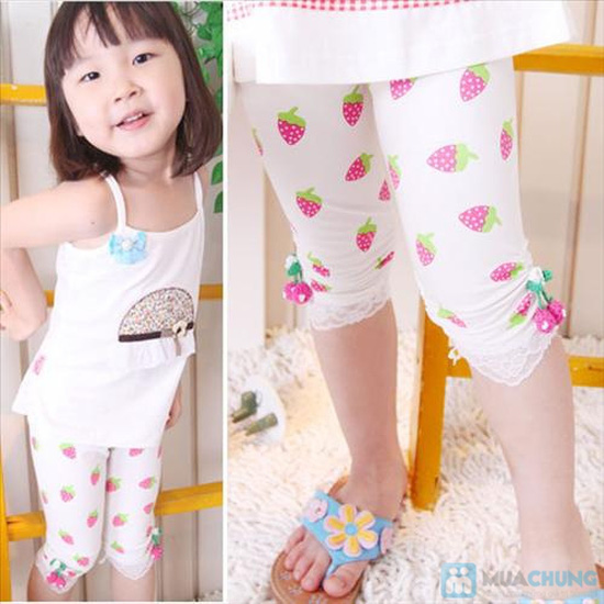 Combo 05 quần legging cho trẻ em - 7