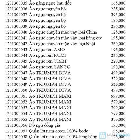 Phiếu mua quần lót nữ Victoria's Secret - Quyến rũ và gợi cảm - Chỉ 130.000đ/01 chiếc - 2