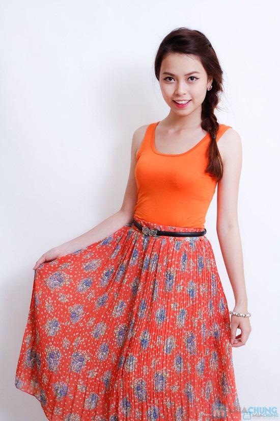 Váy ren dáng xòe - 1
