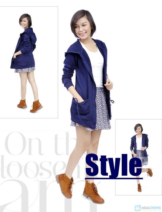 Áo khoác dáng dài phong cách Hàn Quốc cho nữ - Chỉ 115.000đ - 1