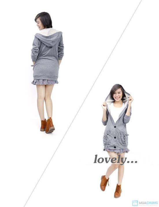 Áo khoác dáng dài phong cách Hàn Quốc cho nữ - Chỉ 115.000đ - 3