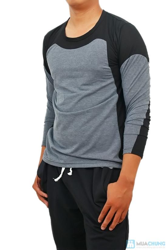 Áo thun nam dài tay Mixcolor - 1
