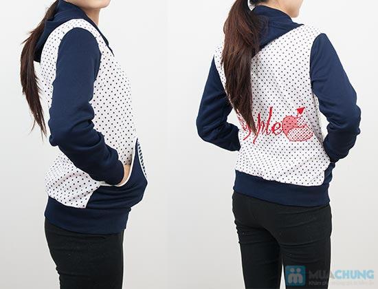 Áo khoác chấm bi xinh xắn dành cho bạn gái - Chỉ 90.000đ/01 chiếc - 9