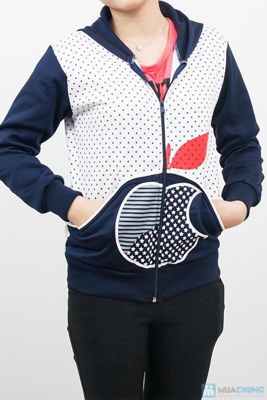 Áo khoác chấm bi xinh xắn dành cho bạn gái - Chỉ 90.000đ/01 chiếc - 2