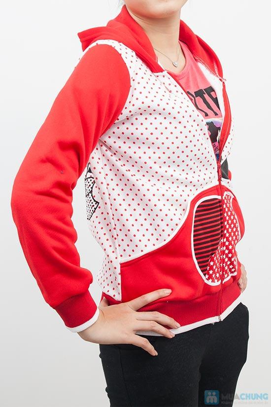 Áo khoác chấm bi xinh xắn dành cho bạn gái - Chỉ 90.000đ/01 chiếc - 3