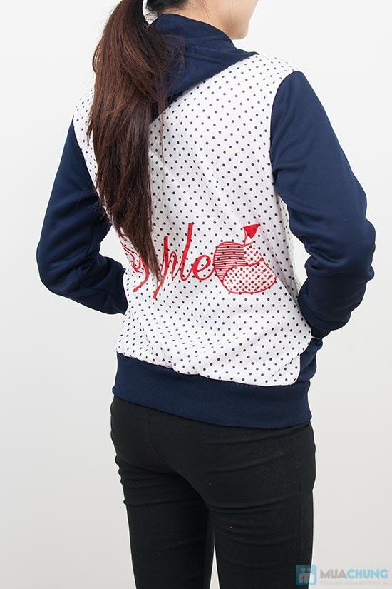 Áo khoác chấm bi xinh xắn dành cho bạn gái - Chỉ 90.000đ/01 chiếc - 4
