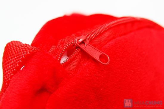 Túi Đeo Hình Thú Cho Bé - Chất Liệu Bông Mịn, Màu Sắc Tươi TắnChỉ 70.000đ/01 chiếc - 8