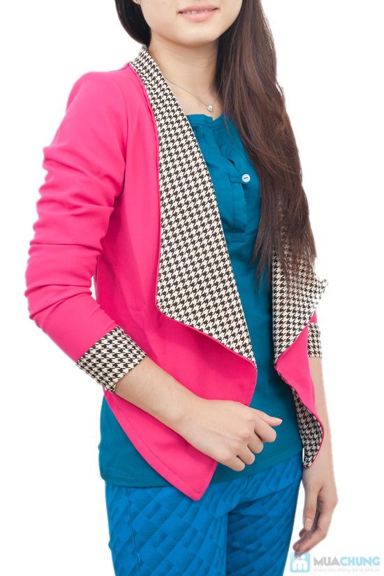 Áo vest cổ zích zắc, kiểu dáng dễ thương, màu sắc trang nhã - Chỉ 115.000đ - 1