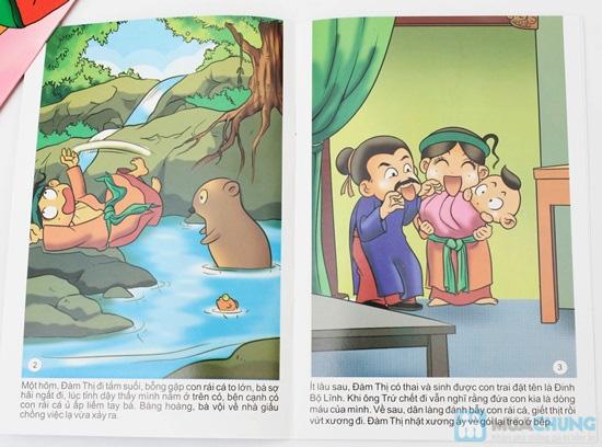 10 cuốn Truyện tranh Danh nhân nước Việt. Chỉ với 78.000đ - 2