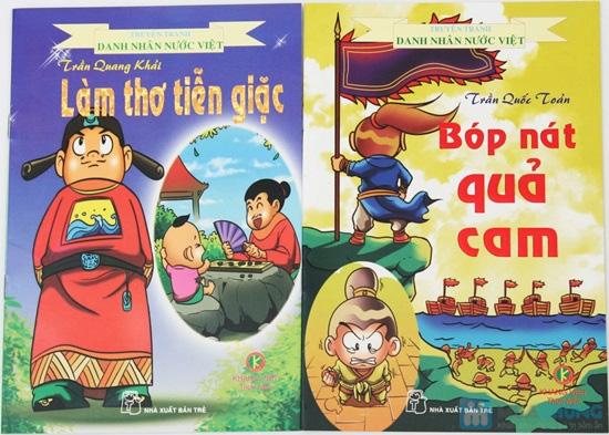 10 cuốn Truyện tranh Danh nhân nước Việt. Chỉ với 78.000đ - 8