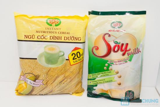 Bột ngũ cốc dinh dưỡng + Bột sữa đậu nành - Chỉ 147.000đ - 1
