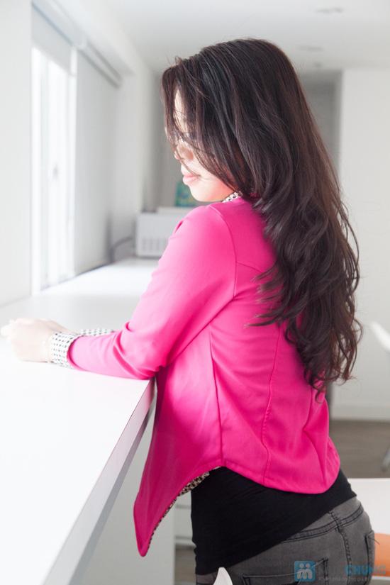 Áo vest cổ zích zắc, kiểu dáng dễ thương, màu sắc trang nhã - Chỉ 115.000đ - 6