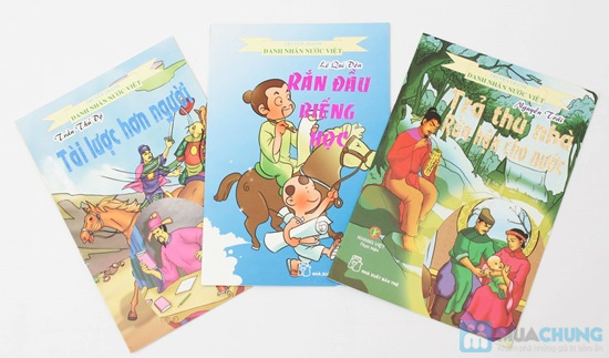 10 cuốn Truyện tranh Danh nhân nước Việt. Chỉ với 78.000đ - 11