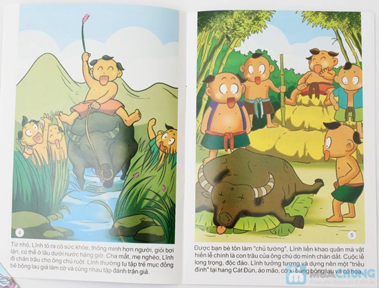 10 cuốn Truyện tranh Danh nhân nước Việt. Chỉ với 78.000đ - 3