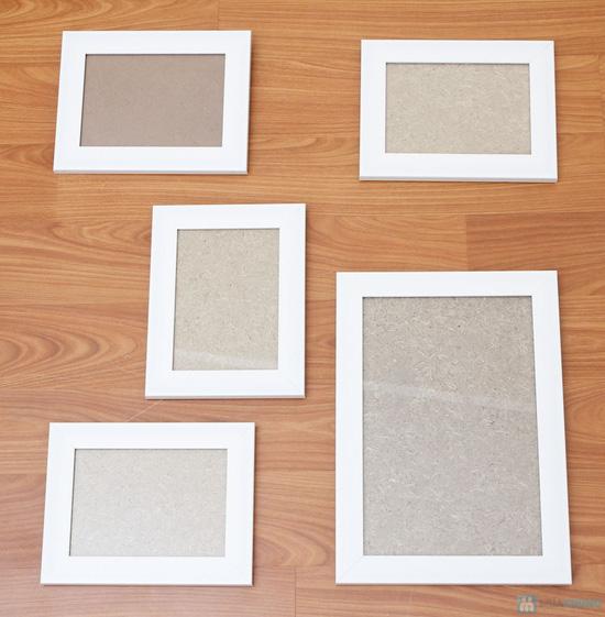 Combo 5 khung tranh 4 cỡ 13 x 18 và 1 cỡ 20 x 30 - 5