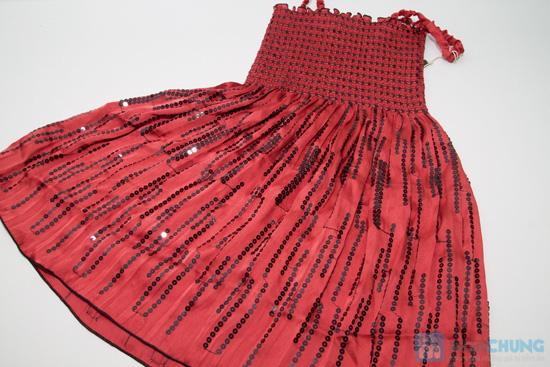 Đầm 2 dây xòe cho bé gái - Chỉ 65.000đ - 5