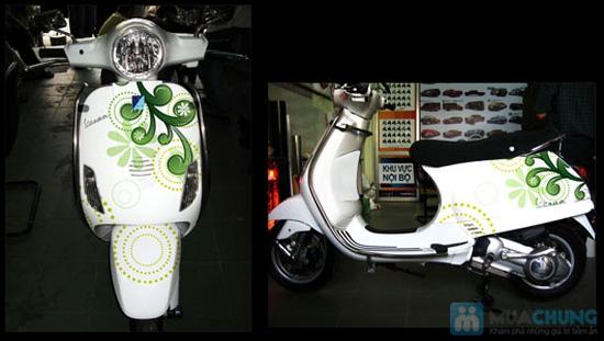 Dịch vụ dán decal trang trí xe máy - 2