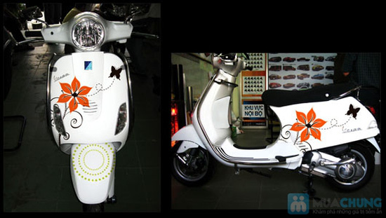 Dịch vụ dán decal trang trí xe máy - 3