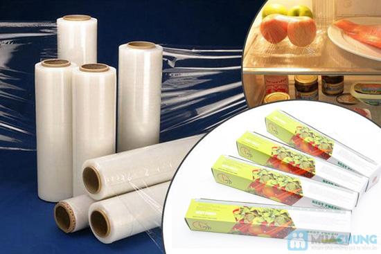Combo 04 hộp màng bọc thực phẩm của NHẬT - Best Fresh - An toàn, tiện lợi, bảo vệ thực phẩm luôn sạch sẽ, chống khuẩn - 2