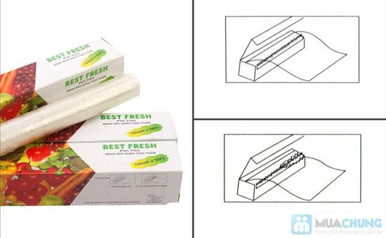 Combo 04 hộp màng bọc thực phẩm của NHẬT - Best Fresh - An toàn, tiện lợi, bảo vệ thực phẩm luôn sạch sẽ, chống khuẩn - 4